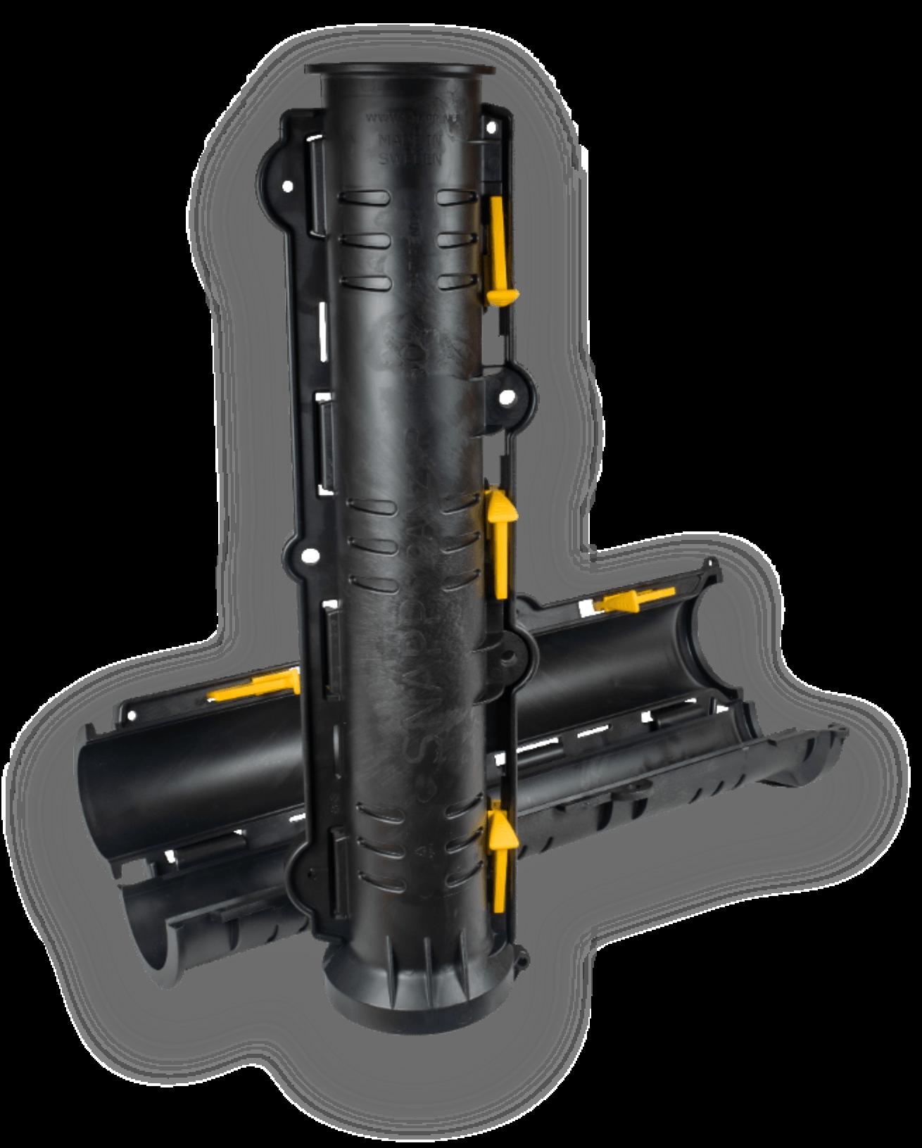 Produktbild på det delbara kabelskyddet Snipp & Snapp SRE-P Panzar