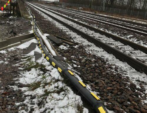 1200 meter Snipp & Snapp® till järnvägsprojekt i Åby, Norrköping